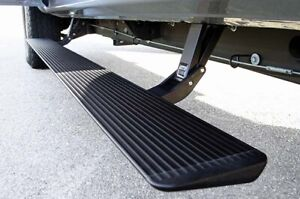 Amp Research 75115 01a Power Step With Light Kit Black