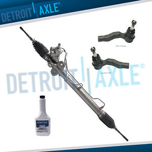 For Nissan 350z Infiniti G35 4pc Power Steering Rack And Pinion Outer Tie Rods