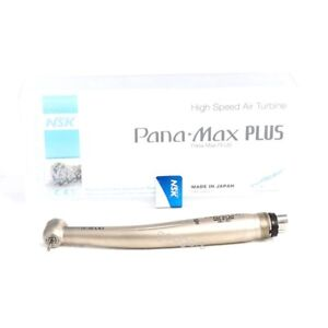 Nsk Pana Max Plus Dental High Speed Handpiece M3 Air Turbine Standard Push 4hole