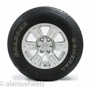 4 New Takeoff Nissan Titan 18 Silver Factory Oem Wheels Rims General Tires