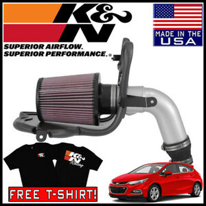 K n Typhoon Fipk Cold Air Intake System Fits 2017 2019 Chevy Cruze 1 4l L4