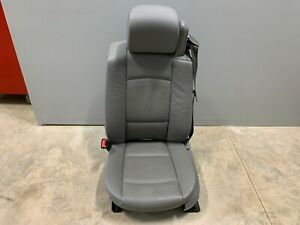 2007 Bmw 335i E93 Convertible Oem Gray Heated Front Seat Driver
