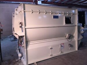 220 Cubic ft Hough Heavy Duty Ribbon Blender In Excellent Condition