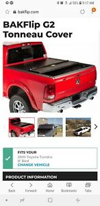 Bakflip G2 Fold Up Tonneau Cover For Toyota Tundra 96 Bed 07 18