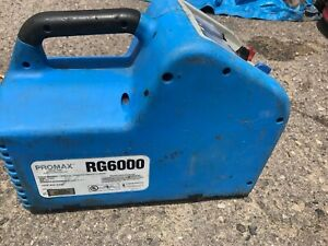 Promax Rg6000 Refrigerant Recovery Machine Works Great