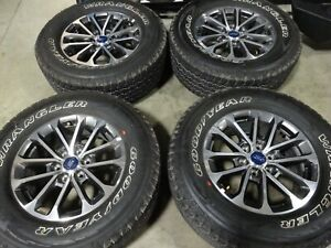 18 Ford F150 Factory Oem Wheels Rims Goodyear Tires Expedition 10169