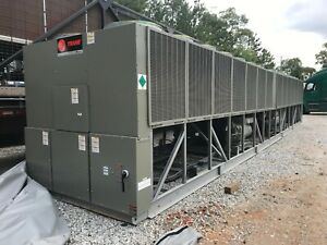 New 400 Ton Trane Air Cooled Chiller Rtac400 Year 2018
