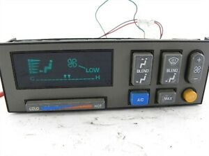 Digital Heater A c Climate Control Panel Fits 90 94 Gmc Chevy Truck Suburban