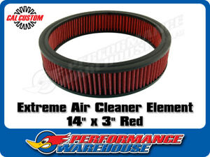 Extreme Air Cleaner Element 14 X 3 Red Filter Performance