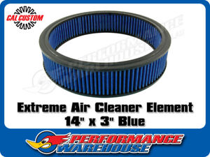 Extreme Air Cleaner Element 14 X 3 Blue Filter Performance