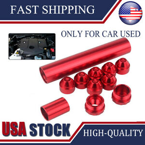 Napa 4003 Wix 24003 1x6 Fuel Filter 1 2 28 Threads Aluminum For Car Use Only
