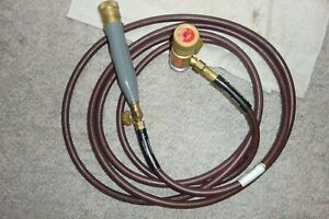 Turbo Torch Acetylene For Plumbing Or Hvac Very Nice Approx 12 5 Ft Hose