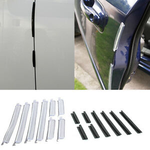 8x Car Door Edge Guards Trim Molding Protection Strip Scratch Protector Sale