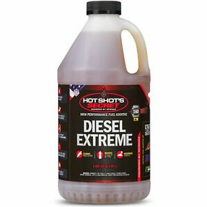 Hot Shot S Extreme Fuel Additive 2 Quarts For Cummins Duramax Powerstroke Diesel
