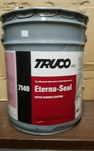 Truco Eterna Seal Rubber Coating 7140 Roof Coating 5 Gallon