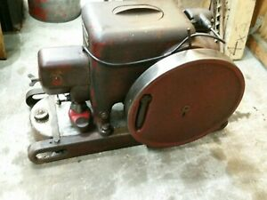 1941 Mccormick Deering La 1 1 2 2 1 2 Hp International Harvester Engine Runs