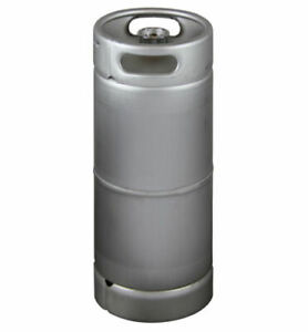 New 5 Gallon Commercial Draft Beer Keg Drop in D System Sankey Valve