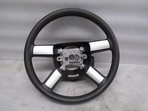 Dk90642 2006 2008 Dodge Charger Steering Wheel Assembly Black silver Oem
