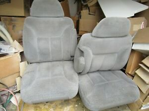 Chevy 1995 1999 Tahoe Suburban Cloth Front Seats