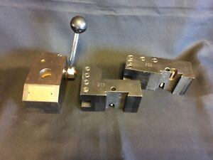 Vintage Kdk 200 Series Quick Change Tool Post W 202 203 Holders
