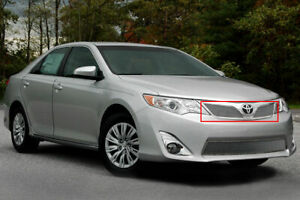Fine Mesh Upper Chrome Grille Fits 2012 2014 Toyota Camry