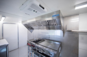 9 Food Truck Or Concession Trailer Exhaust Hood System With Fan