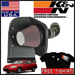 K n Aircharger Cold Air Intake System Fits 2006 2009 Chevy Impala Ss 5 3l V8