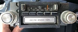1978 Ford Mustang Thunderbird F150 Am fm 8 Track Stereo Radio D8af 19a168 Ab