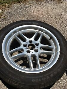 Bmw Oem Polish M Pars 18 Inch M Parallels 18x8 Front Style 37 Tire Not Included