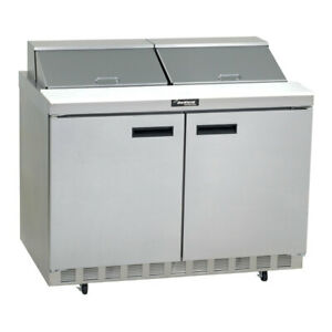 Brand New Delfield 60 Sandwich salad Prep Table W Refrigerated Base
