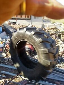 One Used 17 5lx24 R4 Kubota John Deere Farm Tractor Tire