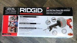 Ridgid 35473 K 45af Sink Machine With C 1 5 16 Inch Inner Core Cable Autofeed