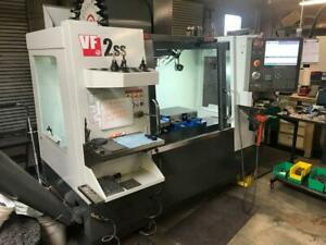 2016 Haas Vf 2ss Cnc Mill Vertical Machining Center