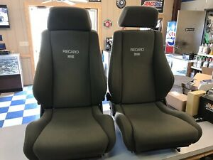 Recaro Se Seats Ford Mustang 5 0 Gt Lx Saleen Cobra Svt Sn95 Fox Body In The Usa