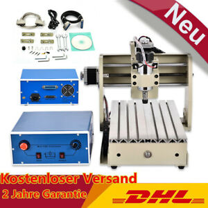Cnc 3020 Router Engraver Drilling Milling Machine 3 Axis Wood Pvc Pcb Cutter