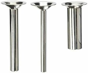 Three Pack 6 Long Sausage Stuffing Stuffer Tubes For Kitchenaid Mixer Meat Grin
