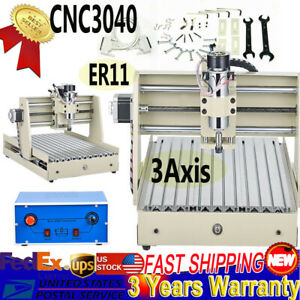 Cnc Router 3040 Engraver Machine Mental Wood Working Cutting Milling Drilling