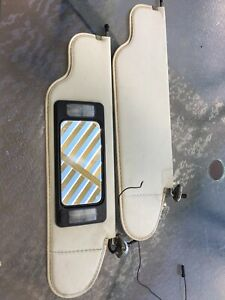 Amc Pacer Sun Visors With Vanity Mirror Rare