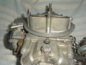 1966 Ford Fairlane Gt Gta Comet Cyclone 390 C60f 9510n Holley 3557 Carb
