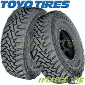 2 X New Toyo Open Country Mt 37x12 50r17 124q 8p D Load All Terrain Mud Tires