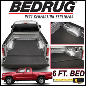 Bedrug Bedtred Impact Bed Liner Mat Fit 2005 2019 Toyota Tacoma With 6 Ft Bed