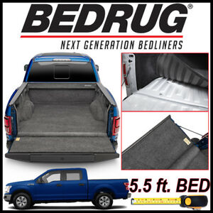 Bedrug Custom Fit Truck Bed Liner Mat For 2015 2019 Ford F 150 With 5 5 Bed