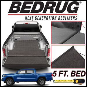 Bedrug Xlt Carpet Truck Bed Mat Liner Fits 2005 2020 Toyota Tacoma W 5 Ft Bed