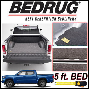 Bedrug Classic Bed Mat Truck Liner Fits 2005 2019 Toyota Tacoma With 5 Bed