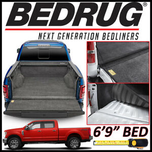 Bedrug Custom Fit Truck Bed Liner Mat 2017 2019 Ford F 250 F 350 With 6 9 Bed