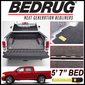 Bedrug Classic Truck Bed Mat Fits 2009 2018 Dodge Ram 1500 With 5 7 Bed