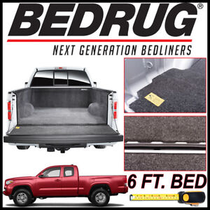 Bedrug Classic Bed Mat Truck Liner Fits 2005 2019 Toyota Tacoma With 6 Bed