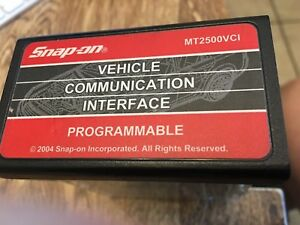 Brand New Snap On Mt2500vci Programmable Mt2500 Scanner Cartridge 2004