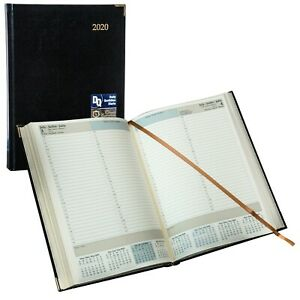 2020 Brownline Cbe514 Executive Daily Planner Hardcover 10 3 4 X 7 3 4