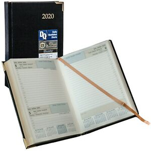 2020 Brownline Cbe504 Executive Daily Planner Hardcover 7 1 8 X 4 7 8
